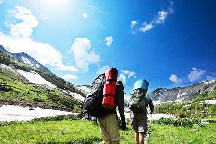 Trekking into Garhwal Himalayas