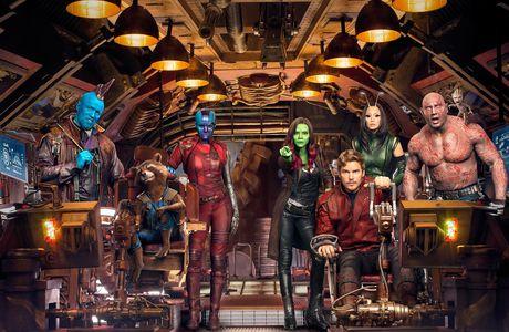 Les gardiens de la galaxie ou les limites d'un film X ... XL