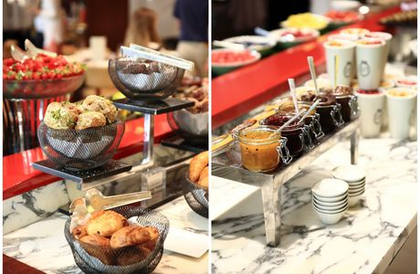 Un brunch au Royal Monceau