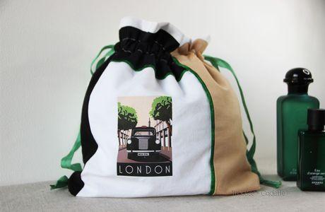 SAC A LINGERIE MOTIF LONDON