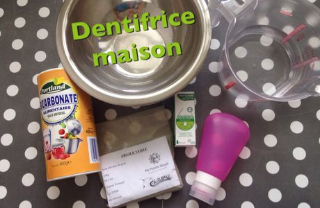 DIY : dentifrice