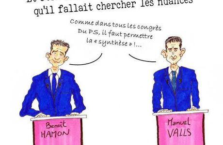 Débat Primaire PS : Hamon vs Valls