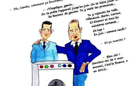 Pink washing ? Cambadélis donne ses conseils à Hamon