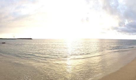 Île de La Réunion, couché de soleil