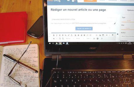 Cinq mauvaises raisons de tenir un blog professionnel