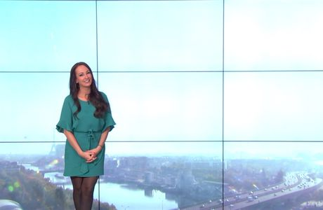 Alexandra Blanc Météo LCI le 29.04.2017
