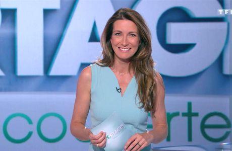 Anne-Claire Coudray JT 13H TF1 le 29.04.2017