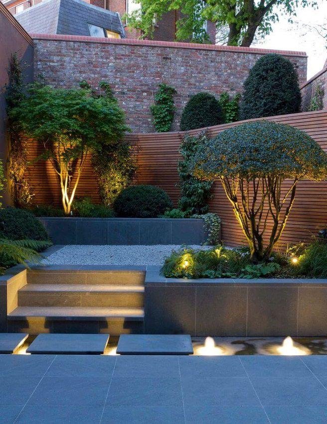 spot lumineux jardin