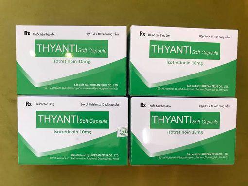 Công dụng của Thyanti và hình thức sử dụng của Isotretinoin