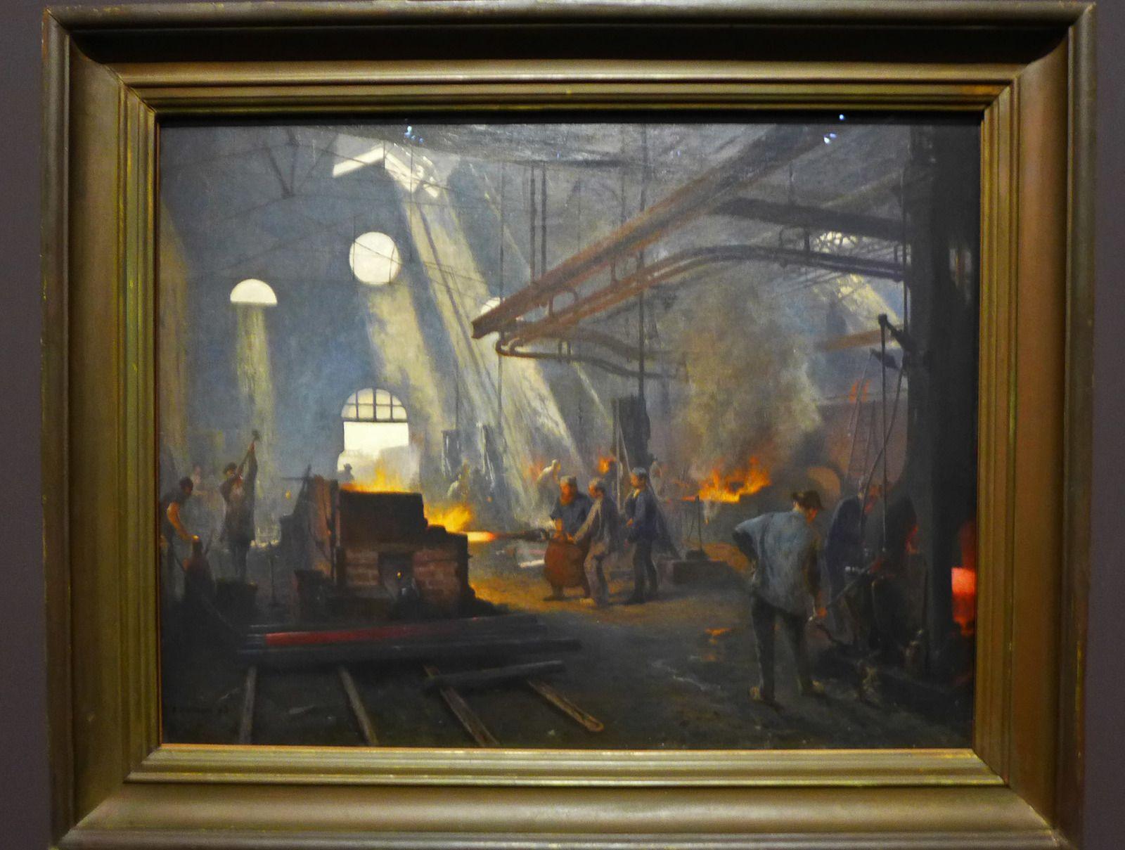 Fernand CORMON (1845-1924), Une forge (1893), Paris-musée d'Orsay