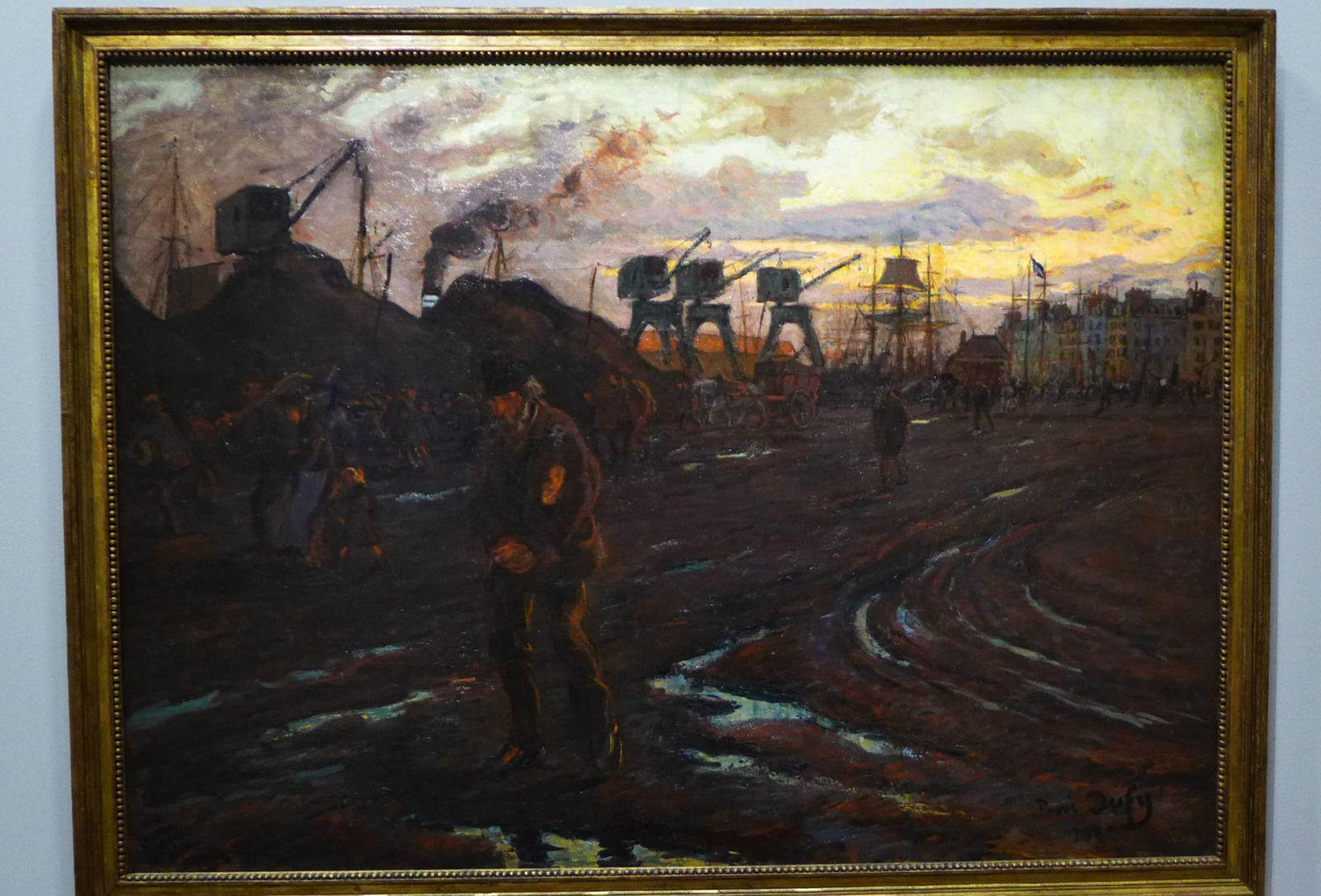 Raoul DUFY (1877-1953), Fin de journée au Havre (1901), Le Havre