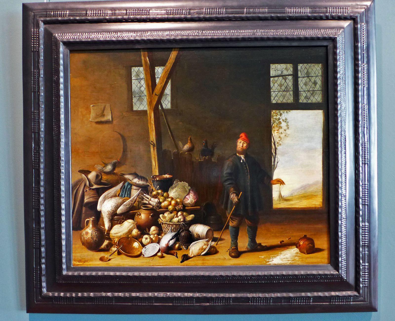 Harmen van STEENWYCK (1612-1656), La Cruche cassée