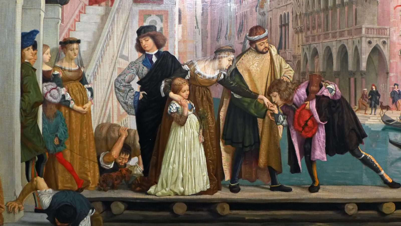 Départ de l'enfant prodigue (1863), Petit Palais, Paris.