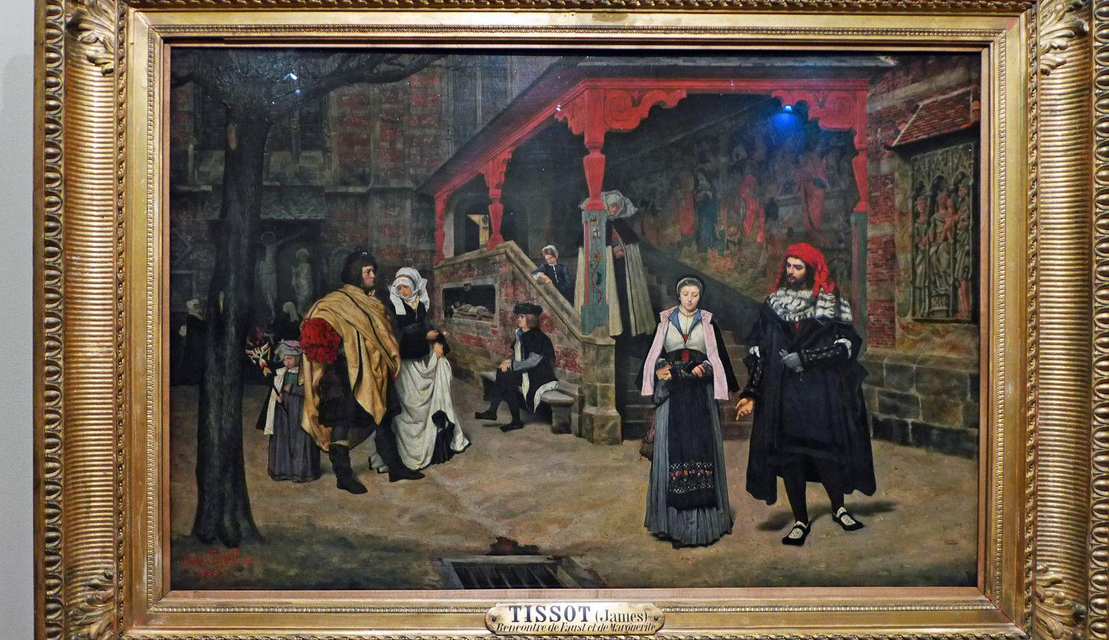 Rencontre de Faust et de Marguerite (1860), Musée d'Orsay, Paris.