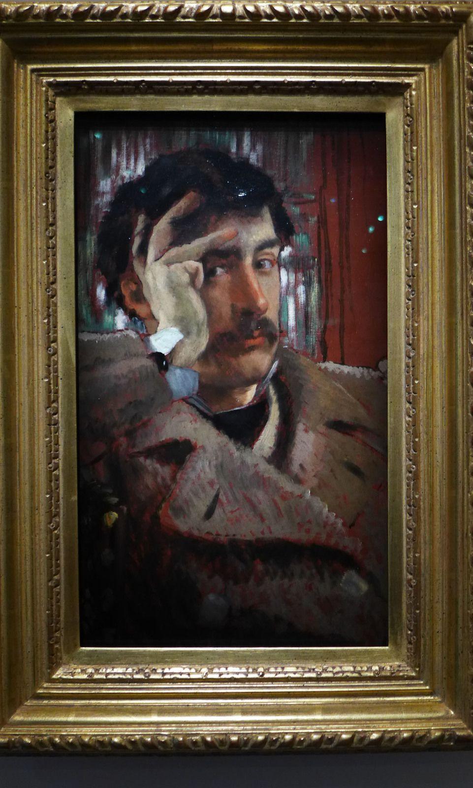 Autoportrait (vers 1865), San Francisco Fine Arts Museums