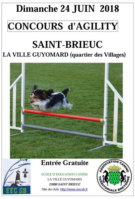 Coucours d'Agility 2018