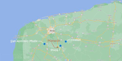 Les cénotes du Yucatán