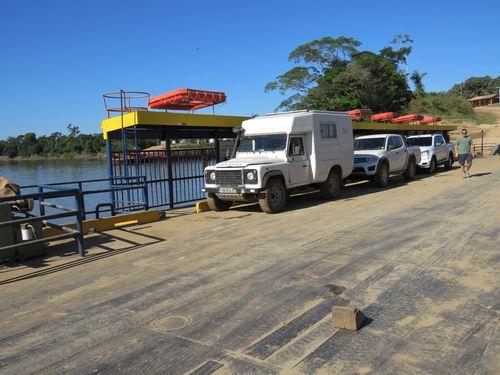TRANSAMERICA  (4.5.- Brésil ou le petit circuit des garages et Rio de la Plata)