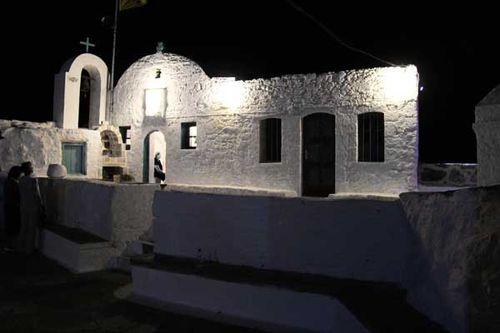 Nisyros 07, fête au monastère Timios Stavros. Le 13 septembre 2014