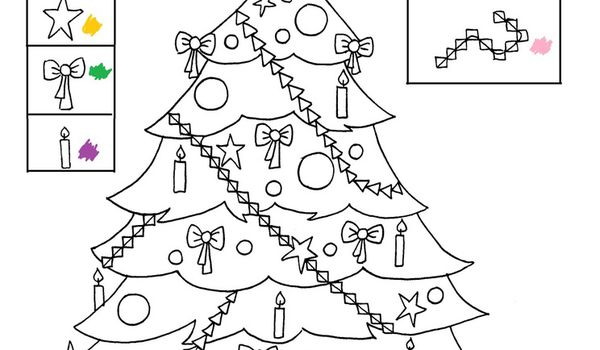 Coloriage de noel pour petite section exactjuristen - Coloriages noel maternelle ...