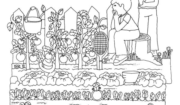 Cole maternelle gellow fiches moyenne section for Jardin a dessiner