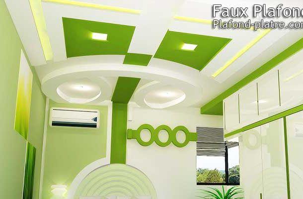 Faux plafond design et d co d couvrez les top faux for Decoration salon en platre