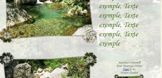 Paysage Corse Incredimail & Papier A4 h l & outlook & enveloppe & 2 cartes A5 & signets 3 langues    pays_corse_1_00_claudine
