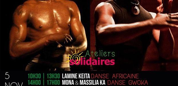 05 et 06/11/16 - Ateliers solidaires Amédé Nwatchok et Lamine Keita - Marseille