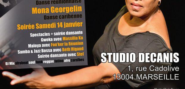 14 et 15/01/17 - Stages de danses autour du tambour - Marseille