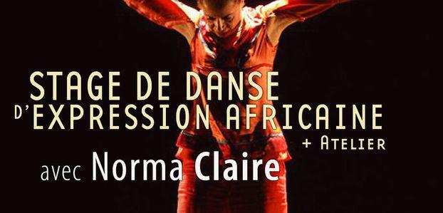 14 et 15/10/17 - Stages de danse d'expression africaine avec Norma Claire - Marseille