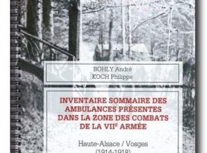 SANITAIRES DANS LES VOSGES 1914-1918