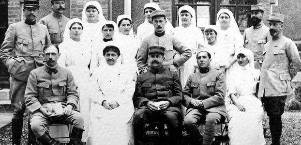 MARNE – Hôpitaux militaires (1914-1918)