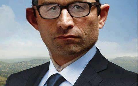 22/02/17 – la lettre de campagne de Marc Jutier pour la 4ème du 24– Benoît Hamon, voiture-balai d'un PS vermoulu
