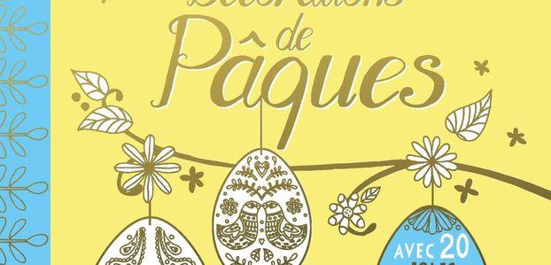 Décorations de Pâques - DIY Déco à Colorier