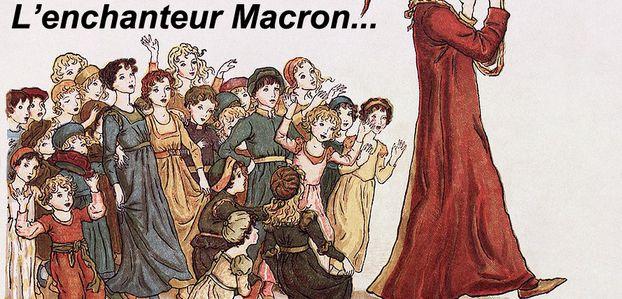 Avec Macron les citoyens français retombent en enfance