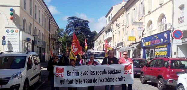 Droit de réponse de l'Union Locale CGT d'Alès à l'article paru sous le titre la démission de Bernard Coste met le feu à la CGT détails