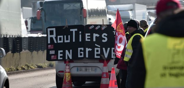 Routiers : grêve reconductible à partir de lundi
