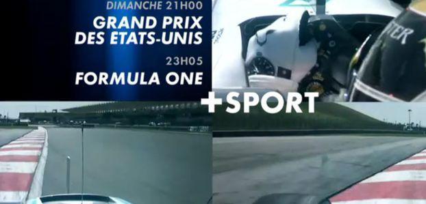 [Infos TV] Formule 1 - Le Grand Prix des Etats-Unis à suivre ce week-end sur les chaînes du groupe Canal Plus !