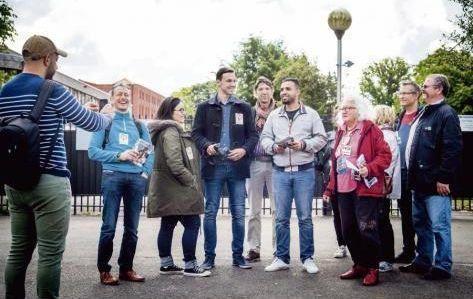 Campagne unitaire FI - PCF à Roubaix