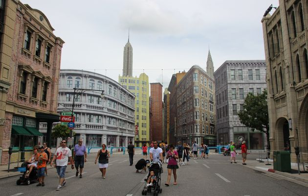 Hollywood Studios : Streets of America & Animation Courtyard