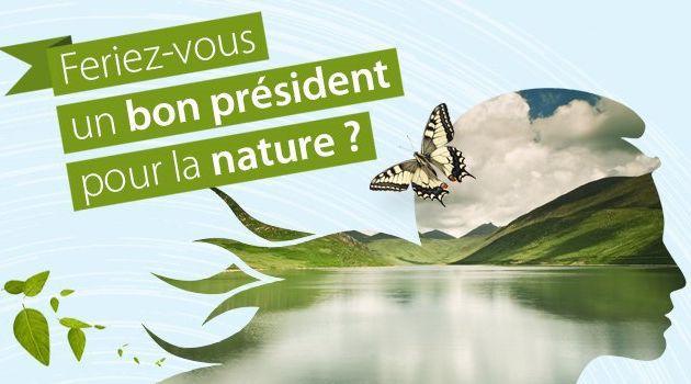 Feriez-vous un bon président pour la nature ?