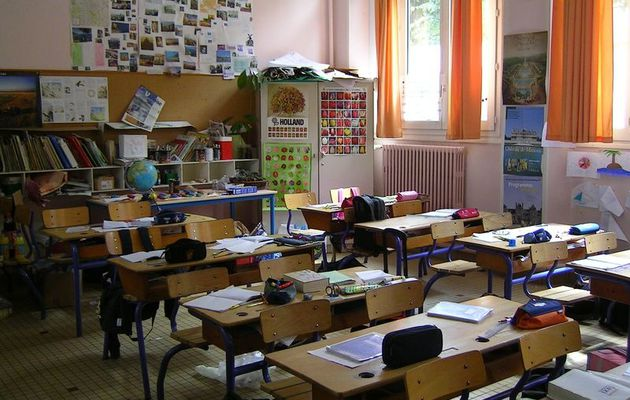 L'instant néerlandais du jour (2017_09_15): het klaslokaal