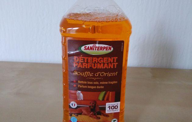 J'ai testé le détergent parfumant Saniterpen