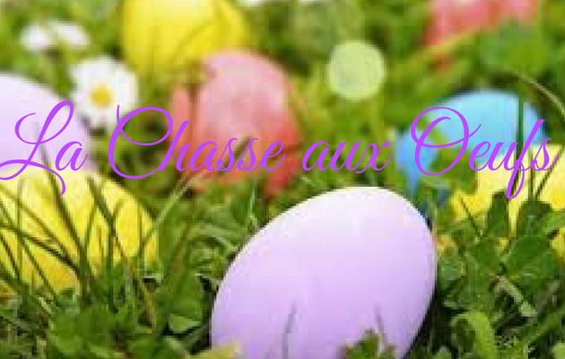 La chasse aux Oeufs de Pâques !