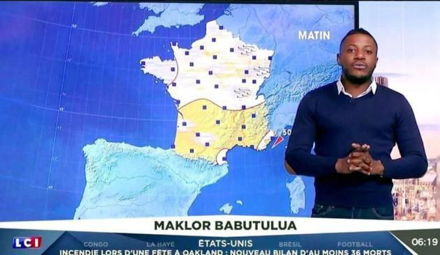 "Catherine Laborde son remplaçant ""Maklor Babutulua"", selon Télé Star"