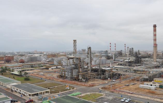 Abidjan: Incendie à la Société ivoirienne de raffinage
