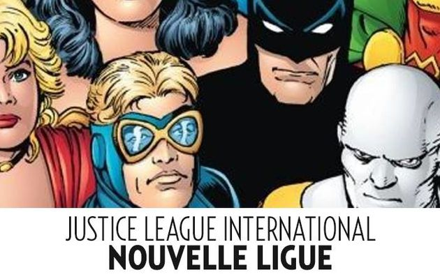 Deuxième tome pout la Justice League International en septembre