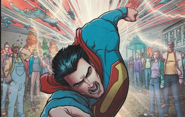 "Mon Impression : Action Comics tome #2 ""Panique à Smallville"""