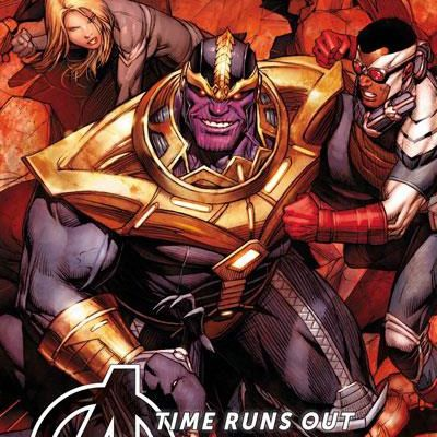 "Mon Impression : Avengers Time Runs Out tome #3 ""Beyonders"""