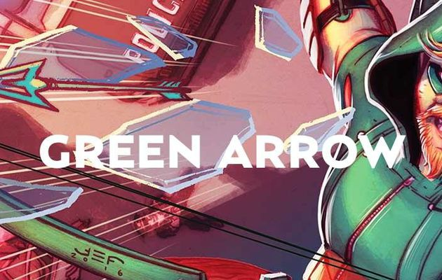Green Arrow Rebirth décoche son premier tome en octobre !